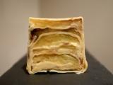 Gâteau de crêpes aux pommes caramélisées
