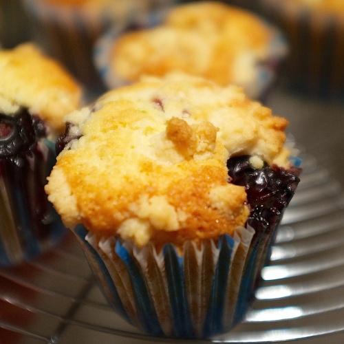 Muffins aux myrtilles inoubliables