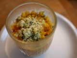 Mug crumble olive tomate