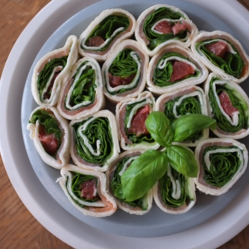 Wraps saumon et pamplemousse rose