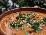 Curry de poulet et lait de coco